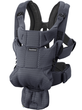 Baby Carrier Free Anthracite 3D Mesh - BABYBJÖRN