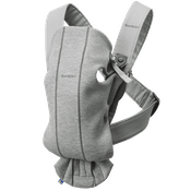Baby Carrier Mini in Lightgrey 3D Jersey - BABYBJÖRN