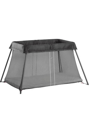Travel Crib Light Black Mesh - BABYBJÖRN