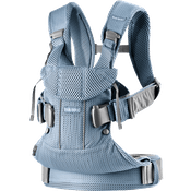 Baby Carrier One Air in Slate Blue soft and airy 3D Mesh - BABYBJÖRN