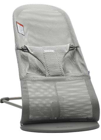 Bouncer Bliss Gray Mesh - BABYBJÖRN
