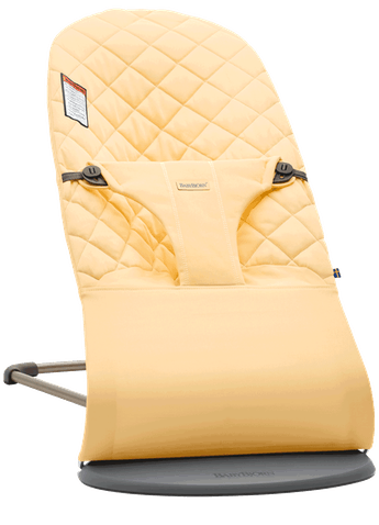 Bouncer Bliss in Light yellow in Cotton - BABYBJÖRN