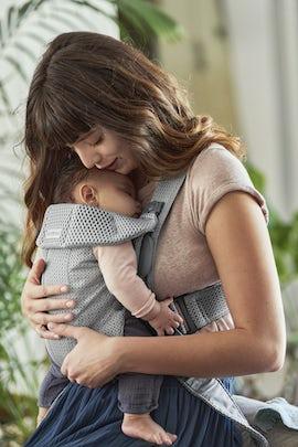 Baby Carrier Mini Gray in 3D Mesh - BABYBJÖRN