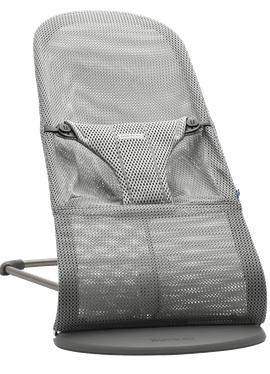 Bouncer Bliss Grey in Mesh - BABYBJÖRN