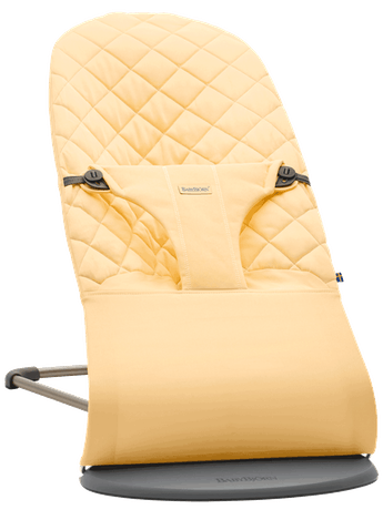 Bouncer Bliss in Light yellow cotton - BABYBJÖRN