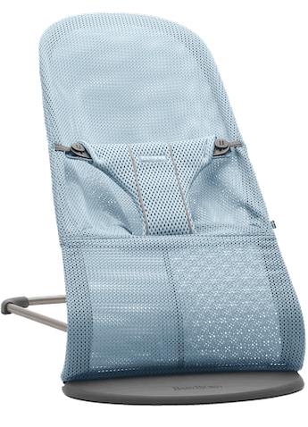Bouncer Bliss in Sky blue Mesh - BABYBJÖRN