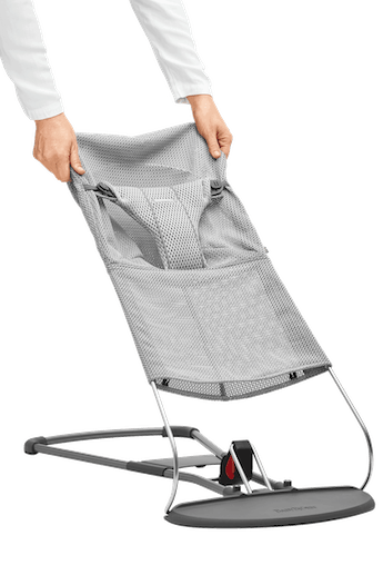 Extra Fabric Seat for Bouncer Bliss Grey Mesh - BABYBJÖRN