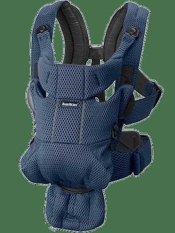 Porte-bébé Free Bleu Marine 3D Mesh - BABYBJÖRN