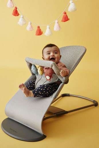 Bouncer Bundle with toy Soft Friends - BABYBJÖRN