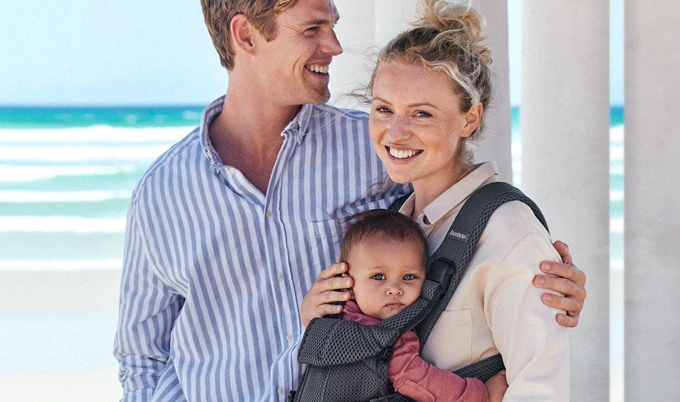 Baby Carrier One Air in mesh for cooler baby wearing - BABYBJÖRN