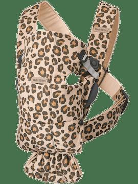 Baby Carrier Mini Beige/Leopard Cotton - BABYBJÖRN