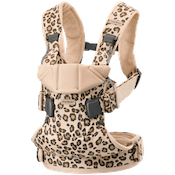 Carrier One in Beige Leopard cotton