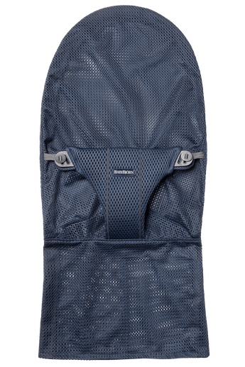 Fabric Seat for bouncer Bliss in Navy blue soft and airy Mesh - BABYBJÖRN