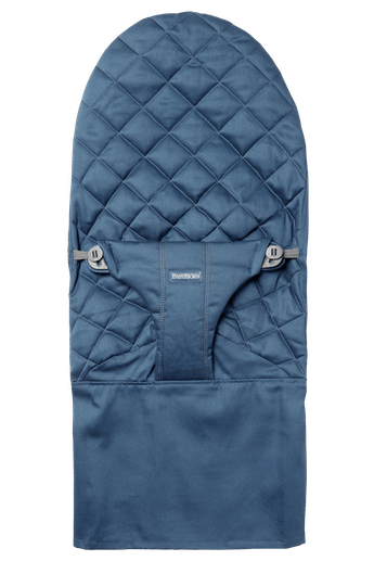 Fabric Seat for bouncer Bliss in Midnight blue soft and quilted cotton - BABYBJÖRN