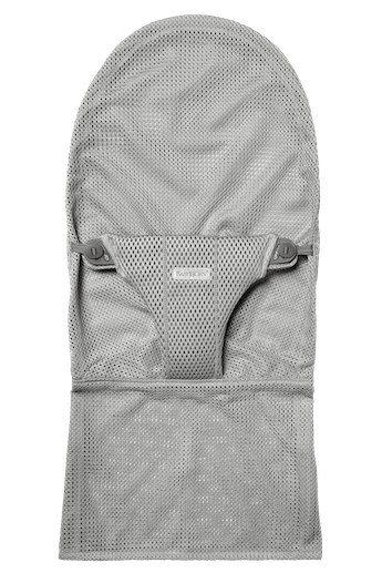 Fabric Seat for bouncer Bliss in Light grey soft and airy Mesh - BABYBJÖRN