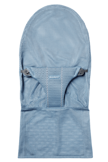 Fabric Seat for bouncer Bliss in Slate blue soft and airy Mesh - BABYBJÖRN