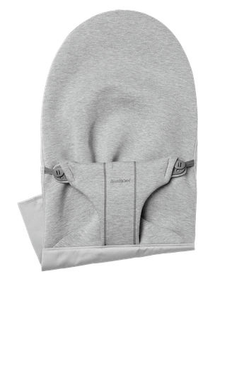 Fabric Seat for bouncer Bliss in Light grey super soft 3D Jersey - BABYBJÖRN