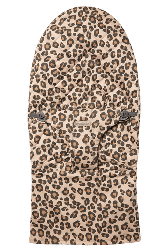 Fabric Seat for bouncer Bliss in Leopard print soft and quilted cotton - BABYBJÖRN