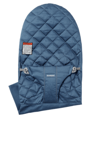 Fabric Seat for Bouncer Bliss in Midnight Blue in soft quilted Cotton - BABYBJÖRN