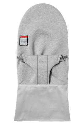 Fabric Seat for Bouncer Bliss in Light Gray soft 3D Jersey - BABYBJÖRN