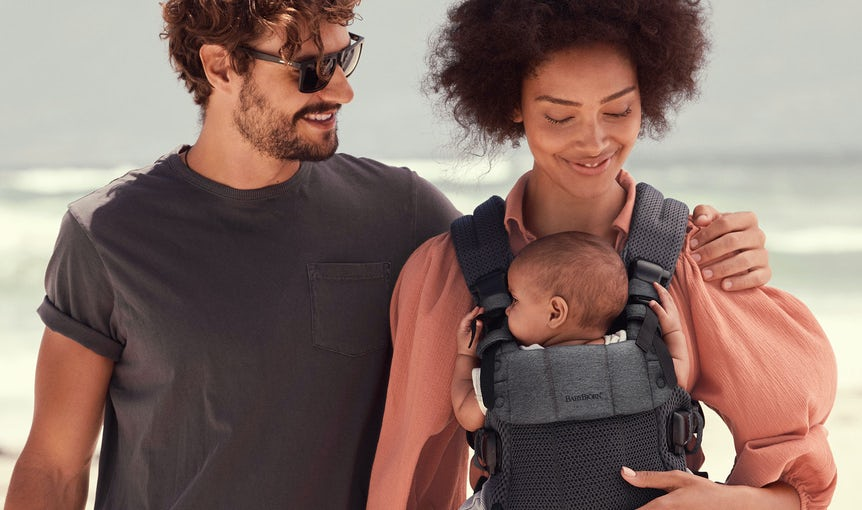 Baby Carrier Harmony in cool mesh