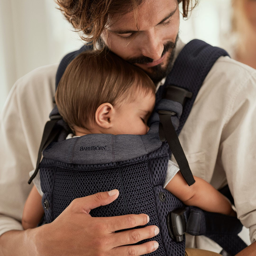Why we love babywearing - attachment