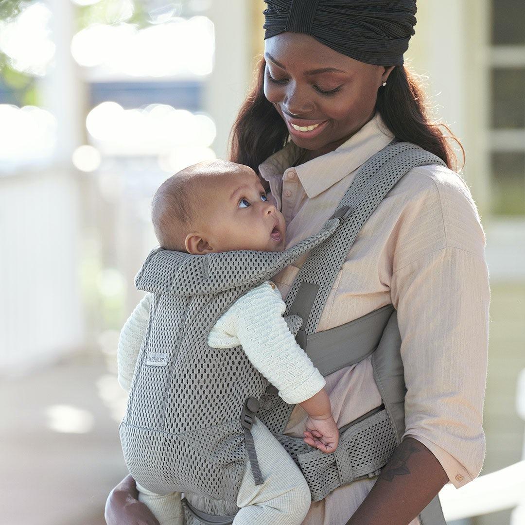 Why we love babywearing - development
