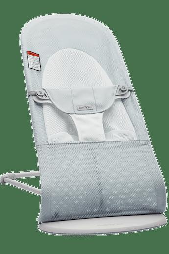 Siège Sauteur Balance Soft Argent/Blanc Filet