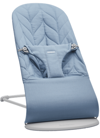 Bouncer Bliss Blue Cotton Petal Quilt