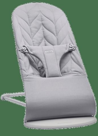 Bouncer Bliss Light grey Cotton Petal Quilt