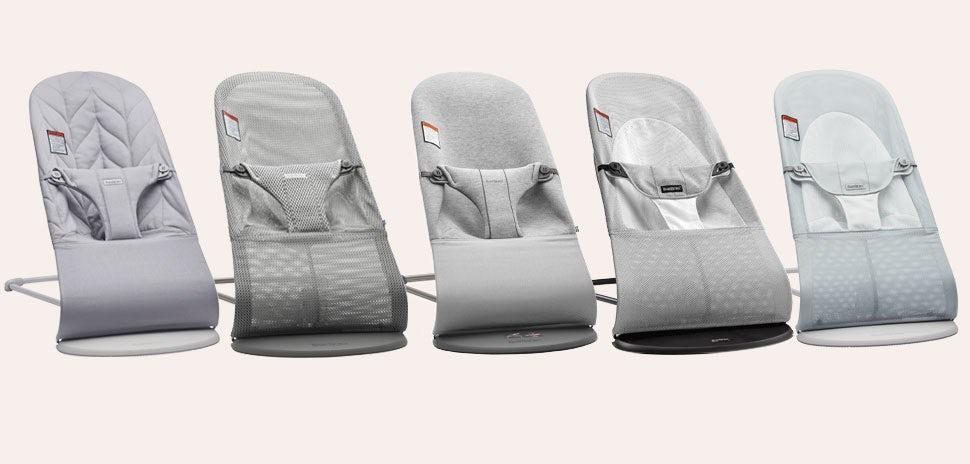 Notre guide des sièges sauteurs - tons gris clair